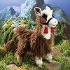 Plush Stuffed llama brown