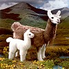 Stuffed Llama - Llama Farm Animals