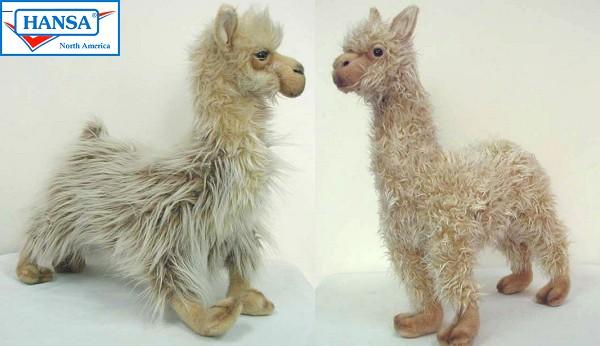 Hansa Stuffed Plush Llamas