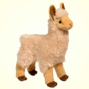 Douglas Stuffed Plush Jasper Golden Llama