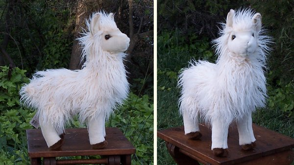 Douglas Oh La La Plush Llama Stuffed Animal