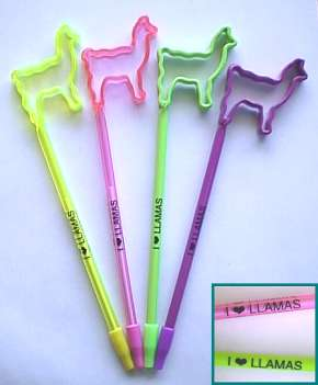 Llama Gifts - Llama Pens